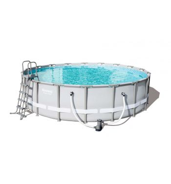 Piscina Bestway Power Steel 549x132cm con Depuradora