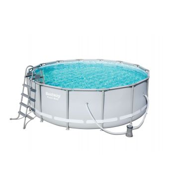 Piscina Bestway Power Steel 427x122cm con Depuradora
