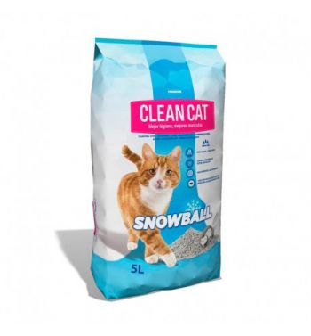 Clean Cat Snow Ball