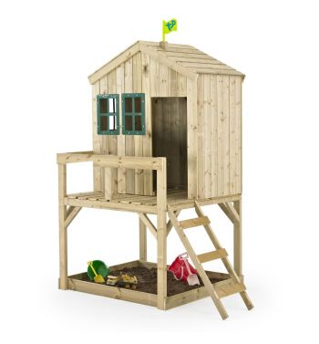 Casita Infantil de Madera Outdoor Toys Forest Cottage
