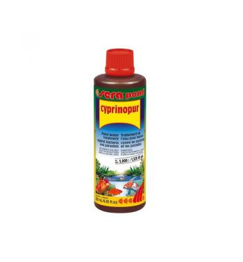 Antiparásitos Sera Pond Cyprinopur 500ml